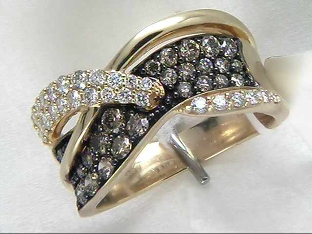Lady's 14k Yellow Gold Diamond Ring