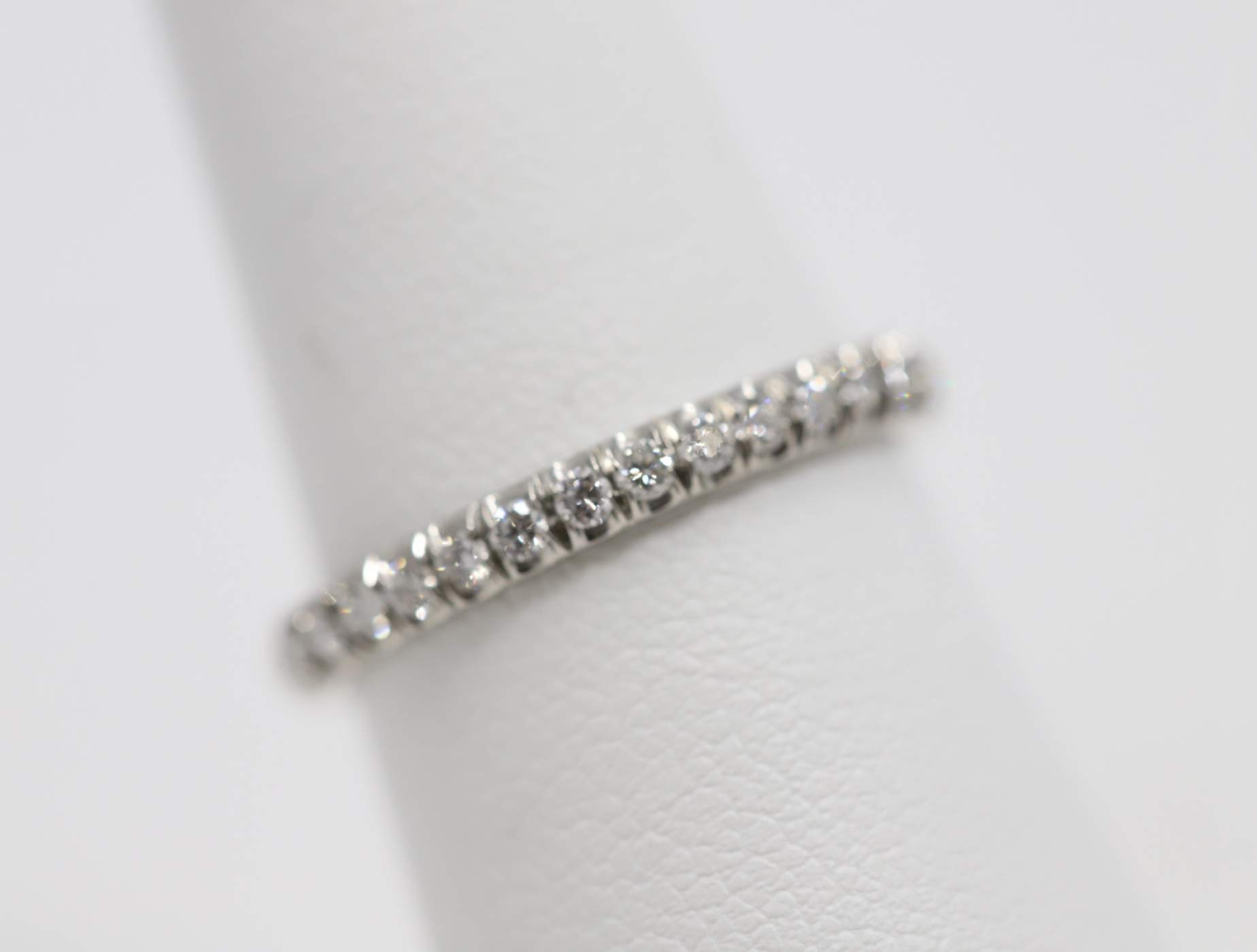 Platinum Lady's Diamond Wedding Ring
