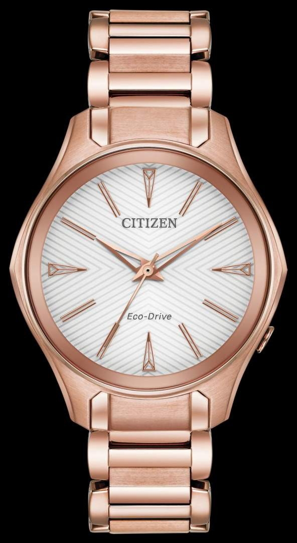 """Stainless Steel Citizen Eco-Drive """"Modena"""" Watch"""