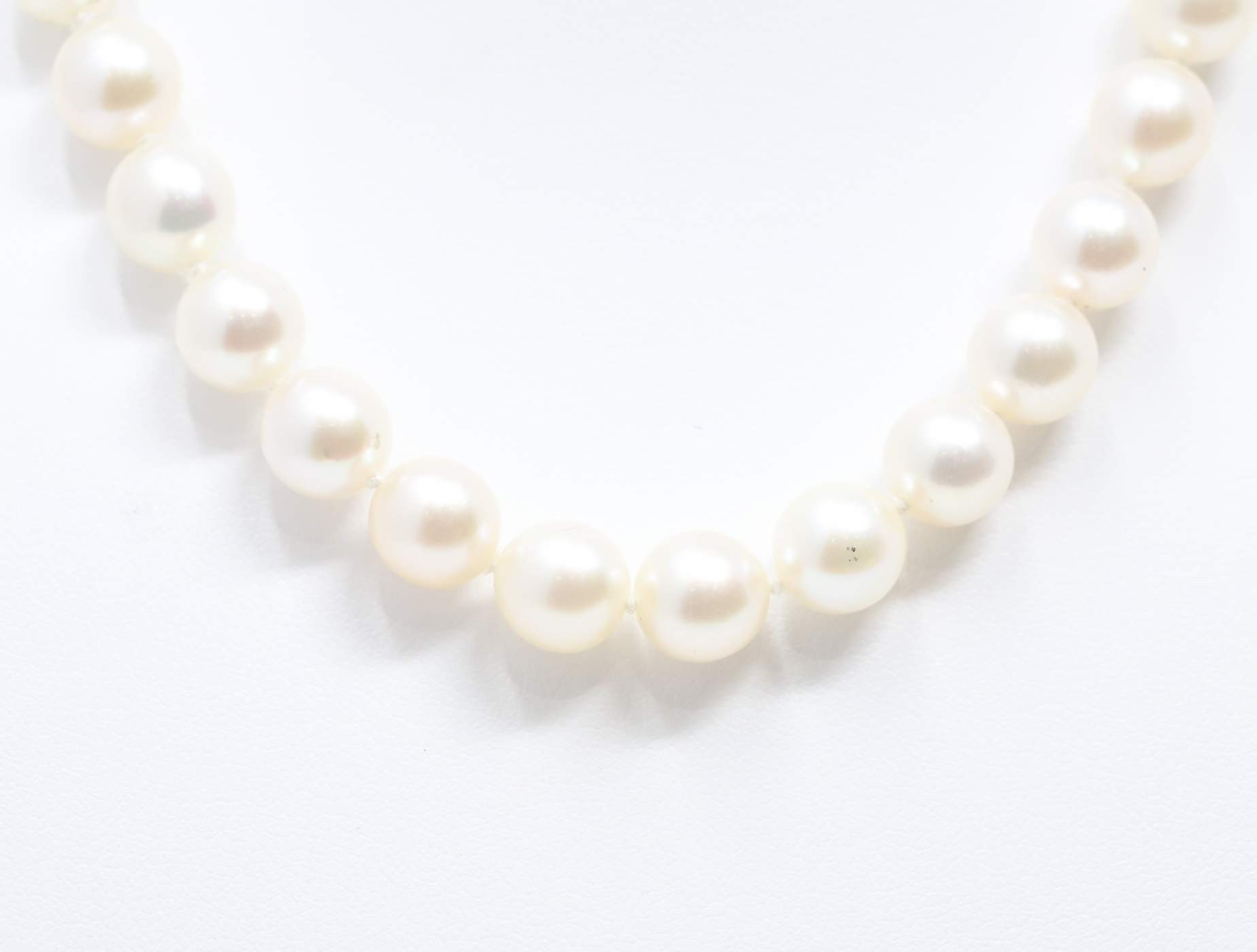 Ladies 14k Yellow Gold Pearl Necklace