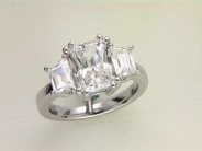14k White Gold Lady's Diamond Engagement Ring