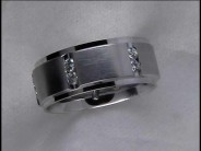 Gentleman's Diamond Wedding Ring