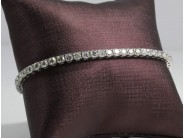 14k White Gold Lady's Diamond Bracelet