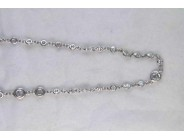 Ladies 18k White Gold Diamond Necklace