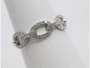 Ladies 18k White Gold Diamond Ring