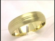 19 Karat Yellow Gold Fancy Wedding Band