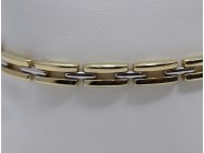 Ladies 14k White And Yellow Gold Bracelet