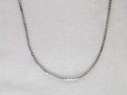 14k White Gold Chain