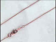 Lady's 14k Rose Gold Chain