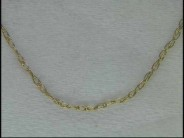 """14k Yellow Gold 16"""" Rolo Chain"""