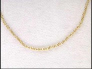 "14k Yellow Gold 18"" Baby Rolo Chain"