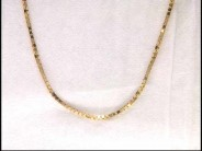 14k Yellow Gold Adjustible Chain