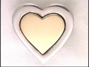 Tiffany 18k Yellow Gold and Sterling Pin