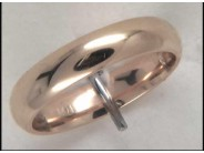 14k Yellow Gold Comfort Fit 4mm Wedding Band size 8