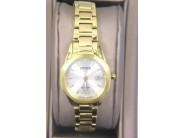Ladies Stainless Steel And Gold Tone Citizen Corso Watch