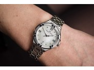 """Lady's Maurice Lacroix """"Aikon"""" Mother of Pearl & Diamond Watch"""