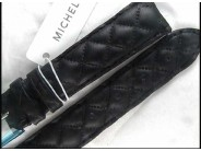 Michele Quilted Calfskin 18mm Watch Straps