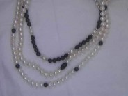 Lady's Sterling Freshwater Pearl Necklace