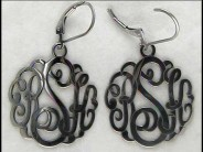 Alison & Ivy Monogram Sterling Earrings