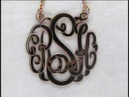 25 mm Classic Monogram Necklace